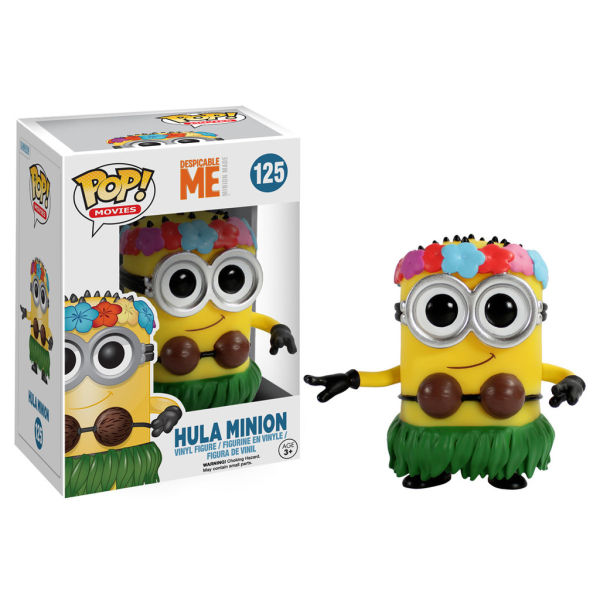 Despicable Me: Hula Minion - POP! Vinyl Figure