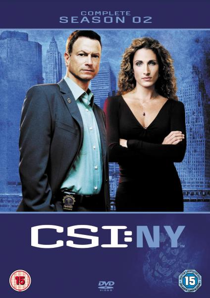 Csi New York Complete Season 2 Dvd Zavvi