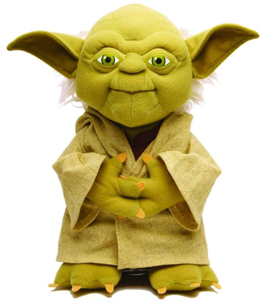 Star Wars 15 Jedi Master Yoda Talking Plush Toys Zavvi