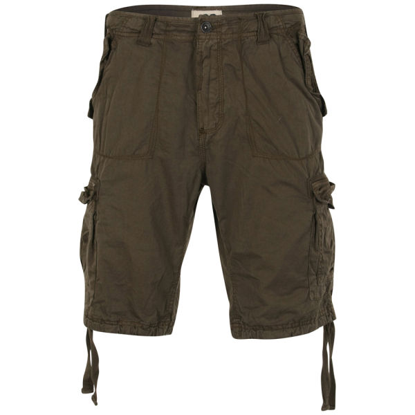 Ringspun Men's Iniesta Shorts - Khaki