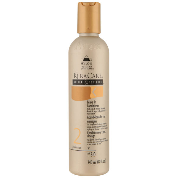 KERACARE NATURAL TEXTURES LEAVE IN CONDITIONER (240ML)   Free Shipping   Lookfantastic
