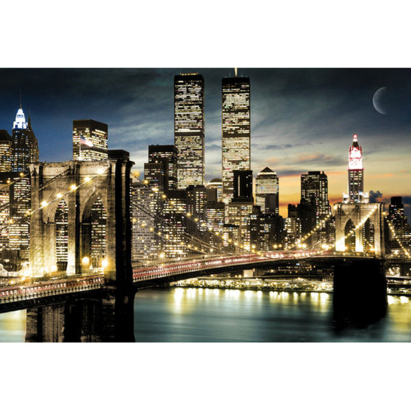 New York Manhattan Lights - Maxi Poster - 61 x 91.5cm