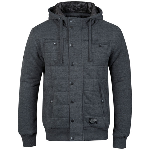 jack jones men 39 s esson sweat jacket grey mens clothing. Black Bedroom Furniture Sets. Home Design Ideas
