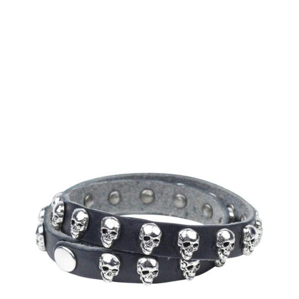Markberg Graziella Leather Bracelet - Black