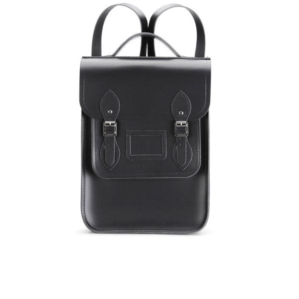 The Cambridge Satchel Company Portrait Leather Backpack - Black