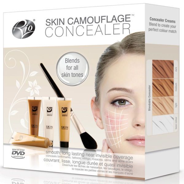 rio skin camouflage concealer hq hair. Black Bedroom Furniture Sets. Home Design Ideas