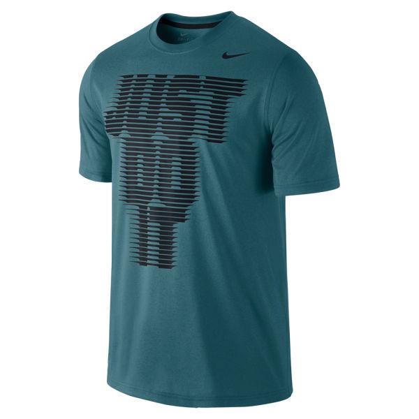 Nike Men S Legend Just Do It T Shirt Teal Sports