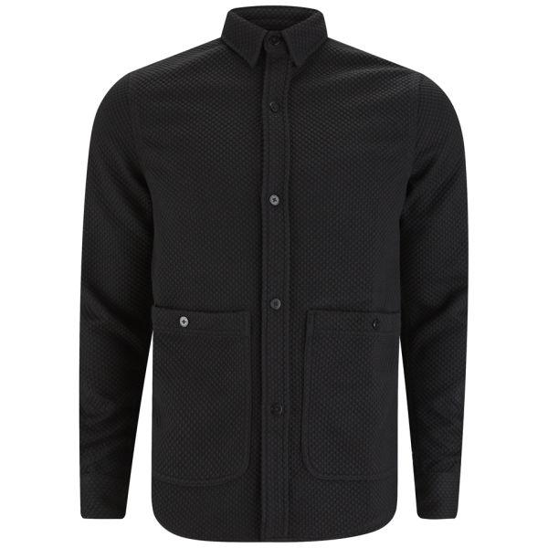 Han Kjobenhavn Men 39 S Public Pocket Shirt Black Free Uk