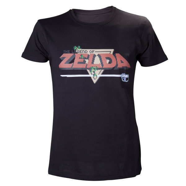 The Legend of Zelda Mens T-Shirt - Black