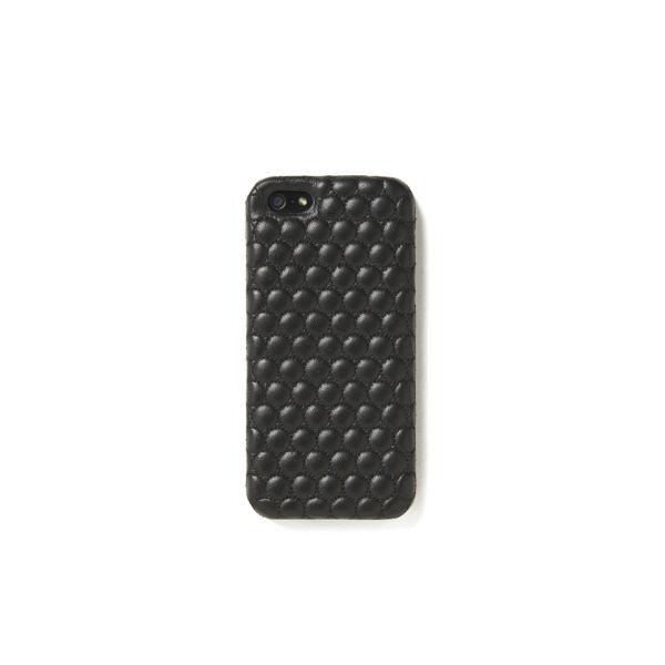 The Case Factory Women's iPhone 5 Case - Bubbles Nappa Black