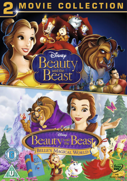 Beauty And The Beast Belle S Magical World Dvd Zavvi