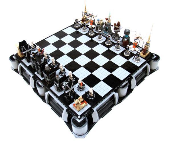 Star Wars 3d Chess Set Toys