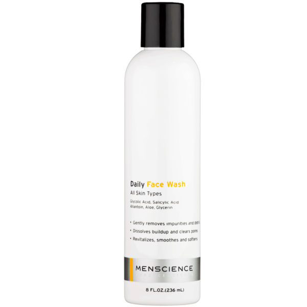 Menscience Daily Face Wash 8 oz