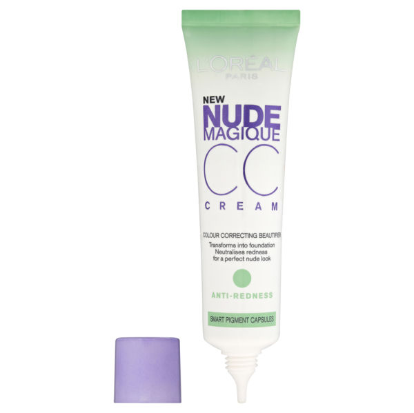 L'Oréal Paris Nude Magique Anti-Redness CC Cream Reviews | Free ...