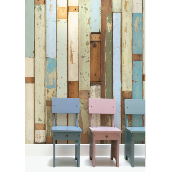NLXL Scrapwood Wallpaper by Piet Hein Eek - PHE-03