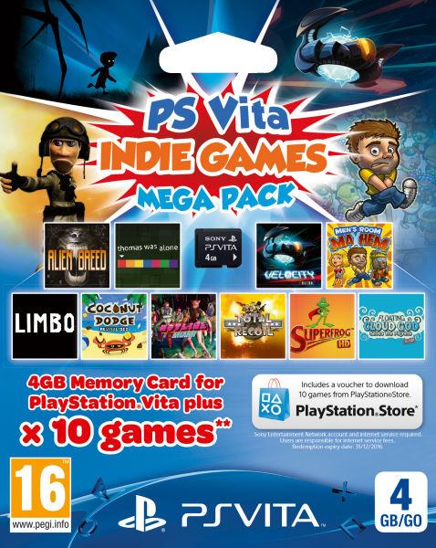 Ps Vita All Games : Ps vita indie games mega pack includes gb memory card