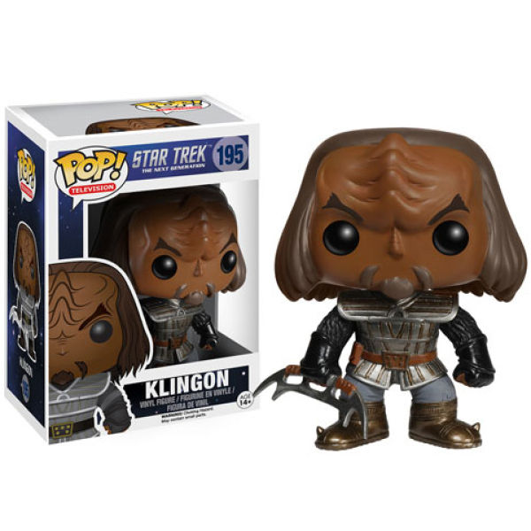 Star Trek: The Next Generation Klingon Pop! Vinyl Figure