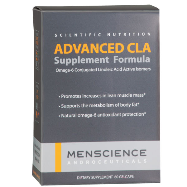 Menscience Advanced CLA Lean Muscle Support Supplement - 60 Capsules