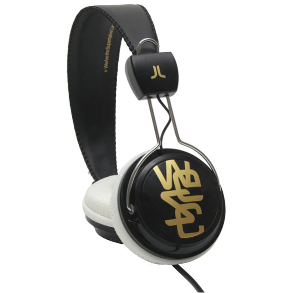 wesc conga headphones black white electronics zavvi rh zavvi com Mic Headphone Jack Wiring Headphone Plug Wiring