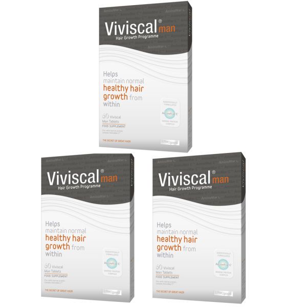VIVISCAL MAN HAIR GROWTH SUPPLEMENT (3 X 60) (3 MÅNADER)