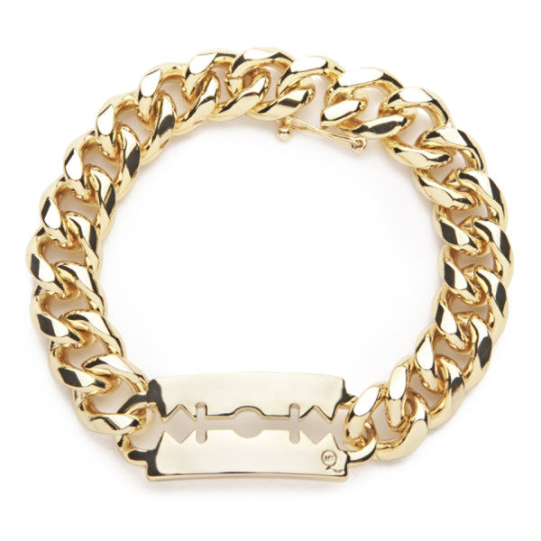 Mcq Alexander Mcqueen Chunky Chain Bracelet Light Shiny Gold Image 1