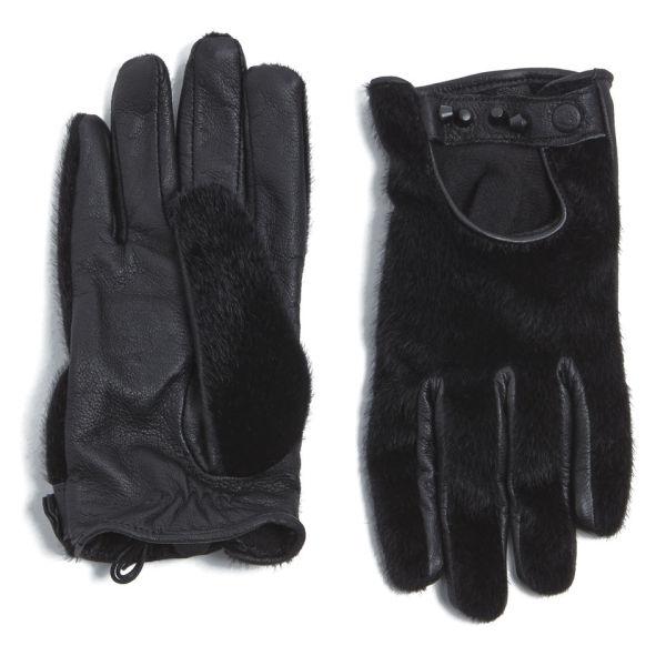 Maison Scotch Women's Pony Gloves - Black