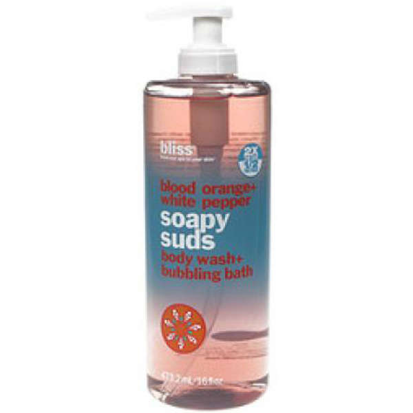 bliss blood orange soapy suds 500ml