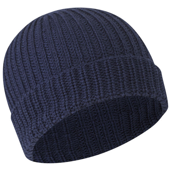 Nigel Cabourn Men s Ribbed Wool Beanie - Indigo - Free UK Delivery ... d85cca6268f