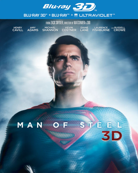 Man of Steel 3D (+ Copie 2D et UV)