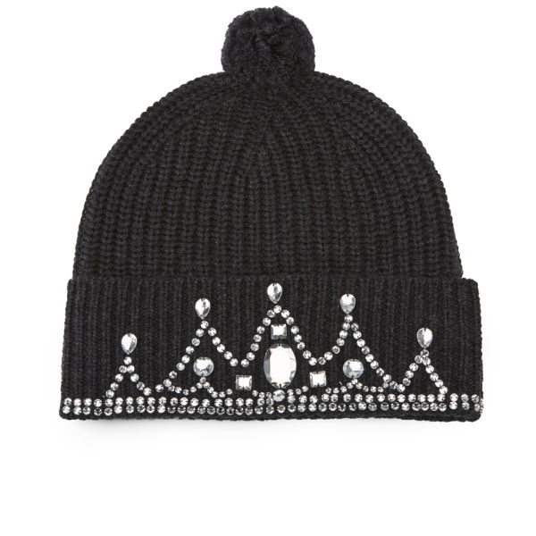 Markus Lupfer Classic Knitted Beanie - Charcoal