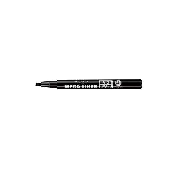 Bourjois Mega Liner - Ultra Black (0,8 ml)