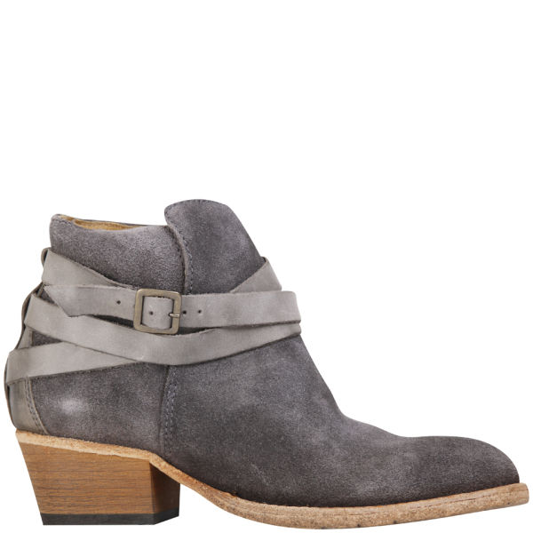 H Shoes by Hudson Women's Horrigan Suede Ankle Boots - Slate