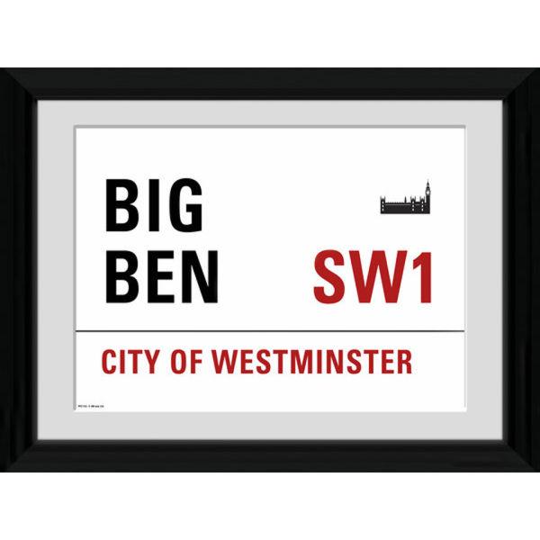 London Big Ben - 30 x 40cm Collector Prints