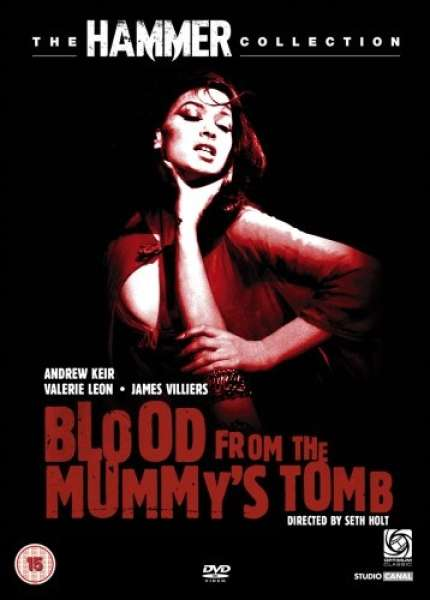 Blood From The Mummy S Tomb Dvd Zavvi