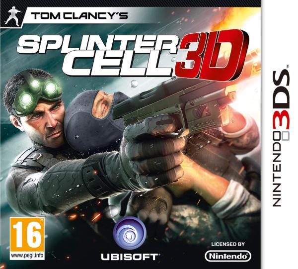 Tom Clancy's Splinter Cell Chaos Theory (3DS)