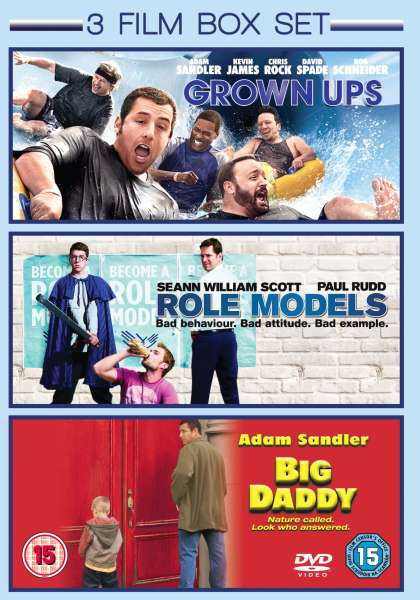 Grown Ups (2010)/ Big Daddy/ Role Models