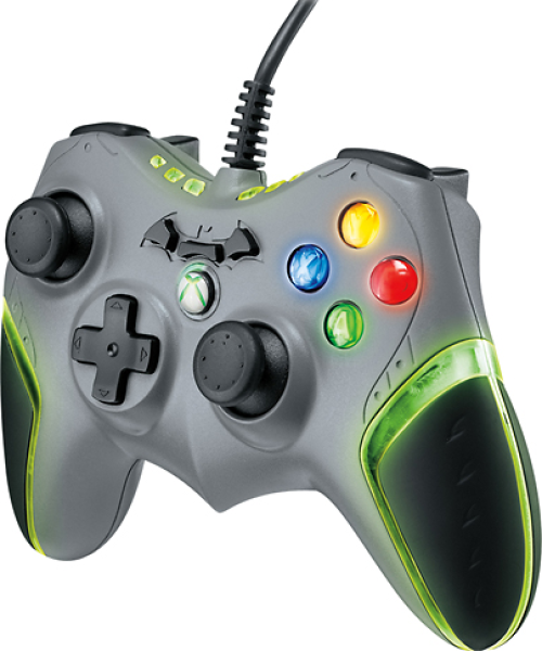 Batarang Wired Xbox 360 Controller Games Accessories | Zavvi Xbox 360 Controller Wired