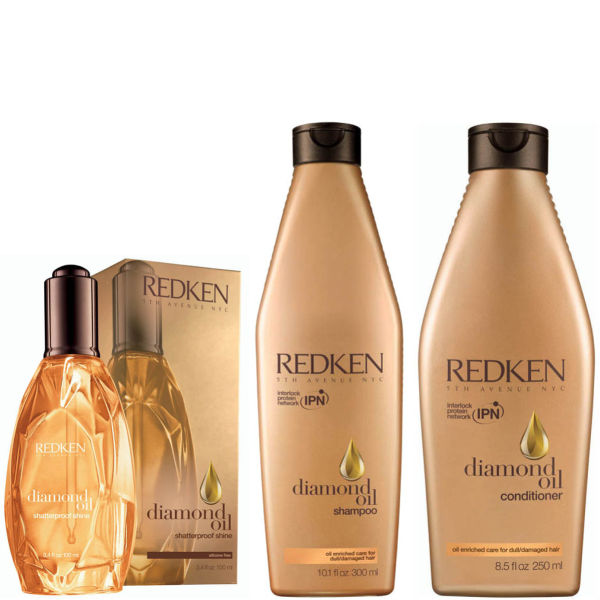 Redken Diamond Oil Shaterproof Shine Haarglanz Kollektion
