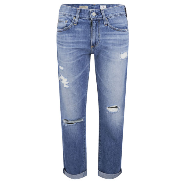 AG Jeans Women's Mid Rise Cropped Piper Jeans - 14 Years Tailspin