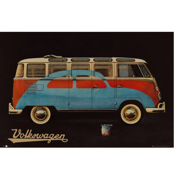 VW Camper Paint Advert - Maxi Poster - 61 x 91.5cm