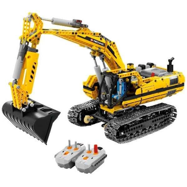 83f3ceec20941c LEGO Technic: Motorised Excavator (8043) Toys   TheHut.com