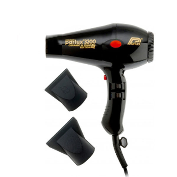 parlux 3200 compact ceramic ionic hair dryer black free shipping