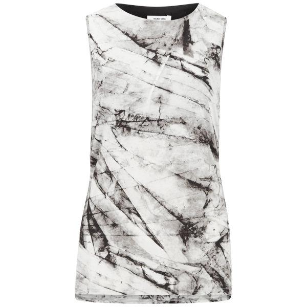 Helmut Lang Women's Terrene Print Jersey Top - Grey Multi