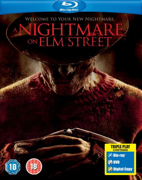 Nightmare on Elm Street: Triple Play (Blu-ray, DVD and Digital Copy)