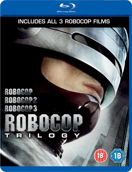 Robocop Trilogy Blu Ray Zavvi