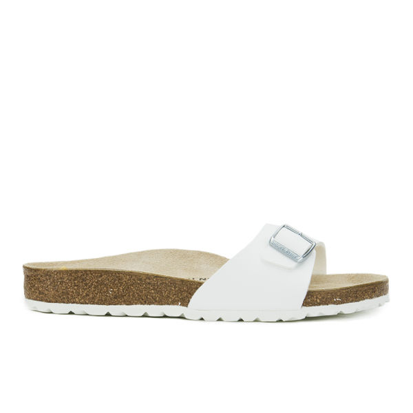 Birkenstock Women's Madrid Slim Fit Single Strap Sandals - White