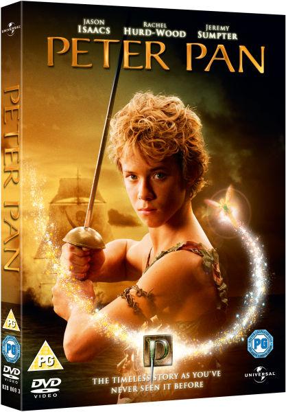 Peter Pan Limited Lenticular Edition Dvd Zavvi