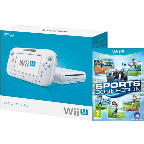 Wii U Console: 8GB Basic Pack - White (Includes Sports Connection ...
