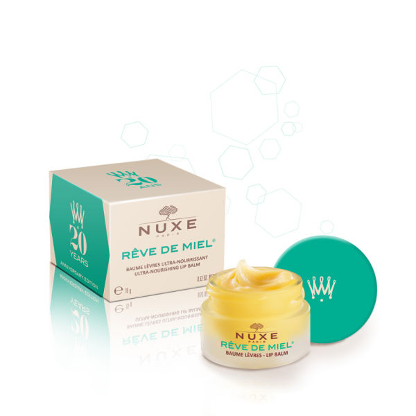 NUXE Reve de Miel Lip balm 20th Anniversary - Green (15ml)