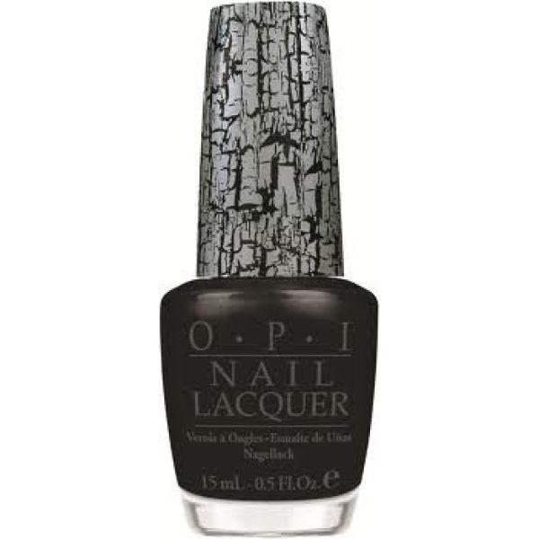 Opi Black Shatter Top Coat (15ml)